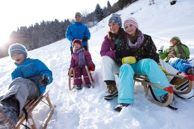 Eltern-Kind-Erlebnisse im Winter, Familienurlaub in Österreich