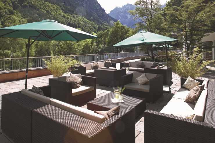 Sonnenterrasse Hotel Scesaplana
