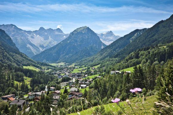 Urlaubsregion Brand im Brandnertal, Vorarlberg, Österreich
