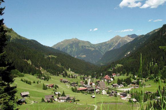 Urlaubsregion Montafon, Gargellen, Vorarlberg