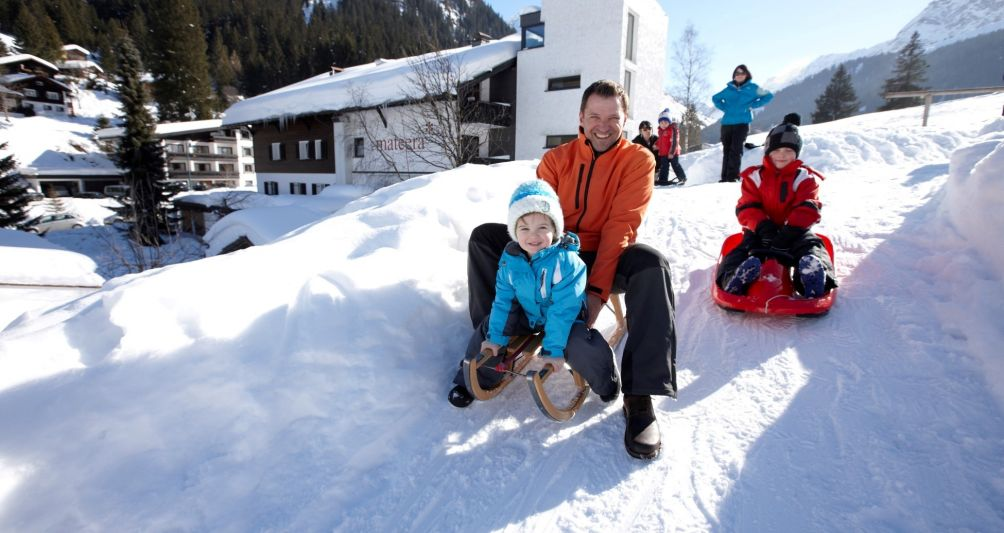parent child time in winter holidays