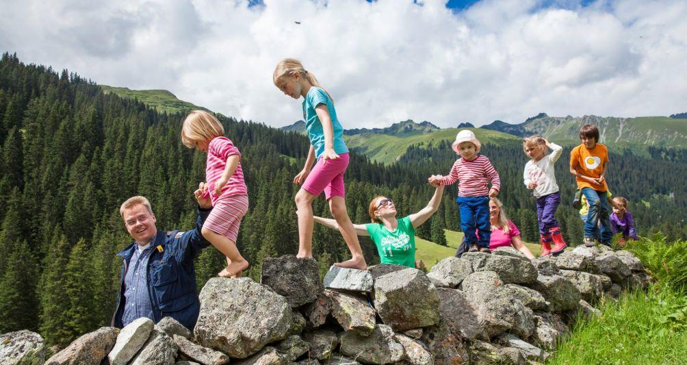 Parent child adventures in summer holidays