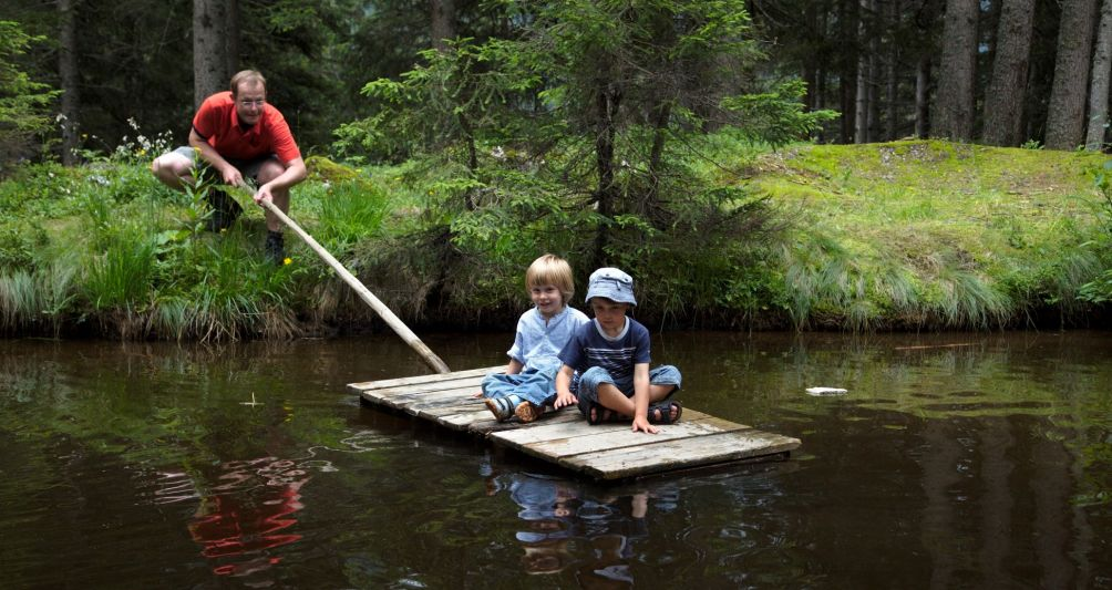 Naturerfahrung, Familienzeit im Urlaub, Hotels in Vorarlberg