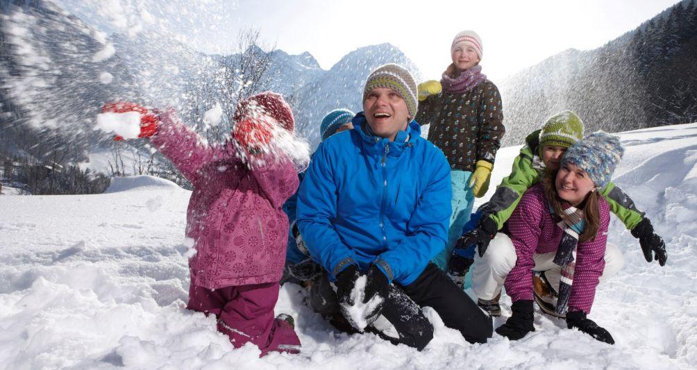 Winterferien mit der Familie, Familienhotel Vorarlberg